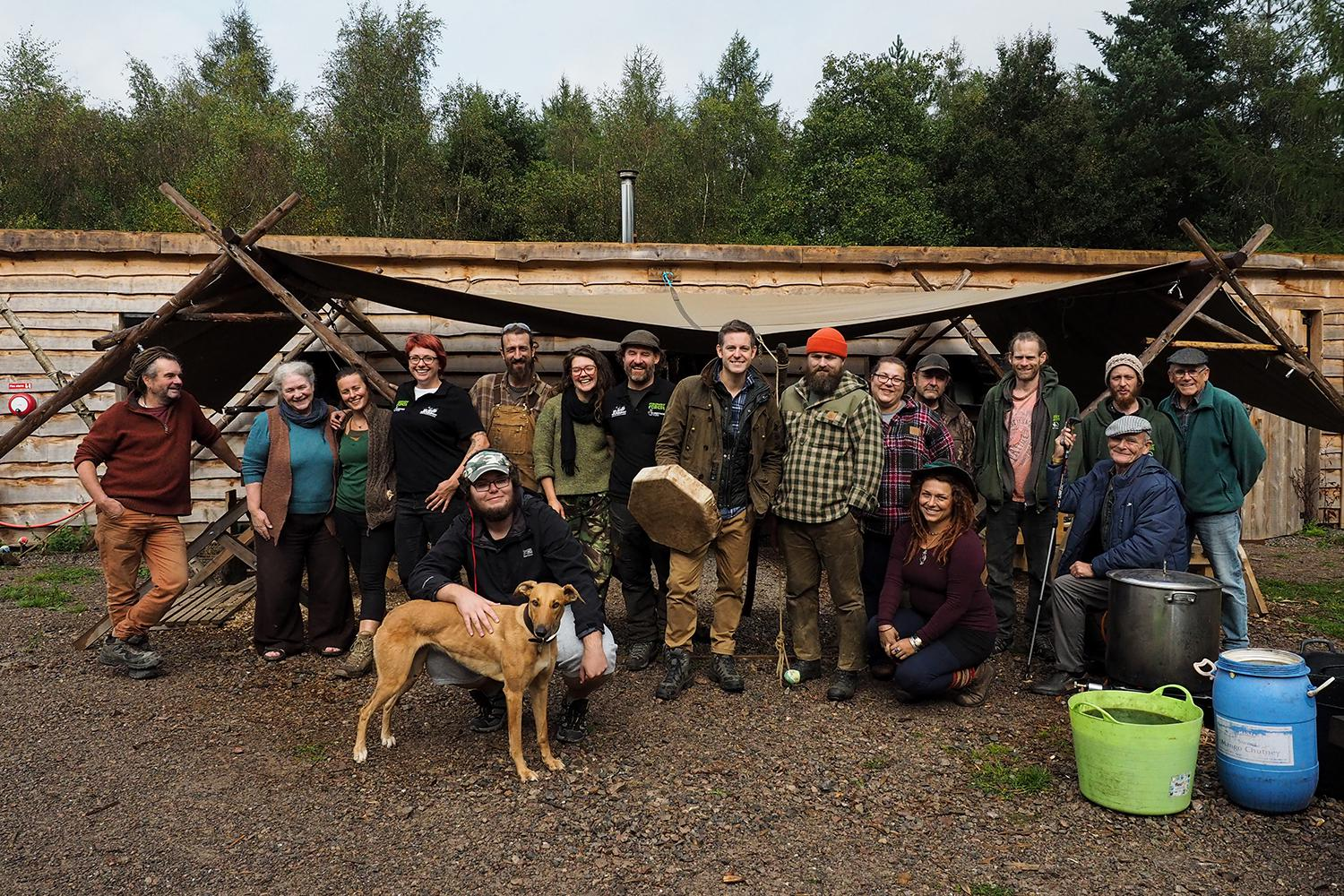 Rewild project forest of dean crew
